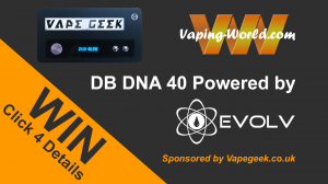 Win a DB DNA 40 Powered by Evolv