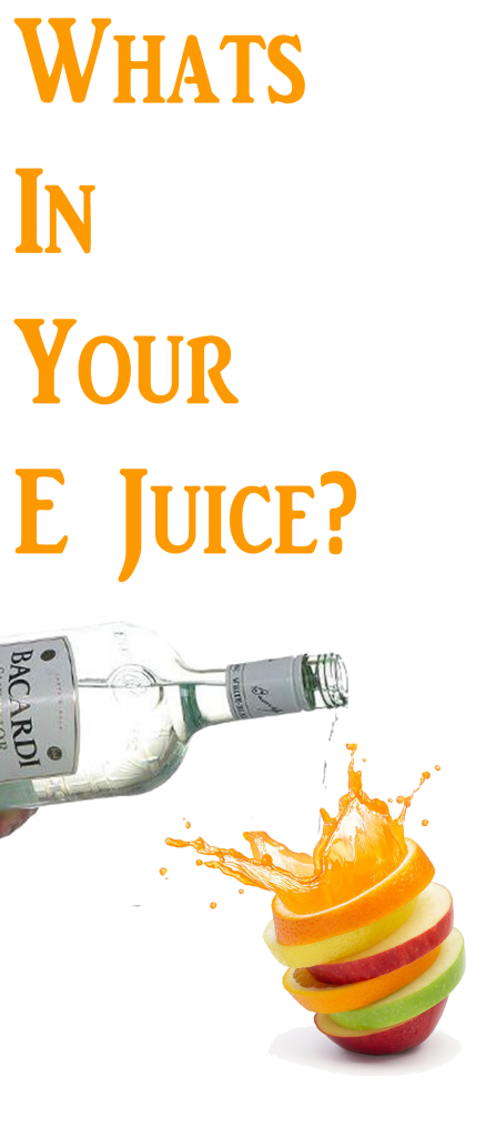 Alcohol Whats in E Juice?