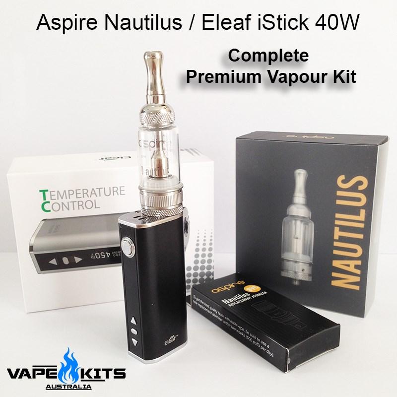 Aspire-Nautilus-Eleaf-istick-40w-kit-Vape-kits-australia-e-cigarette-vapouriser-Vapour-kit