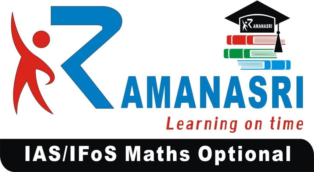 IAS-UPSC-IFoS-Civil-Services-Maths-Optional-RAMANASRI-INSTITUTE-logo